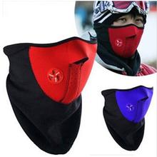 Unisex Windproof Warm Harf Face Mask Winter Snowboard Ski Mask Ride Bike Motorcycle Cap Neoprene Neck Warm CS Mask For Men Women(China (Mainland))