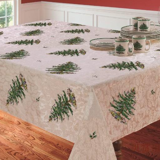 S v christmas tree tablecloths white table cloth