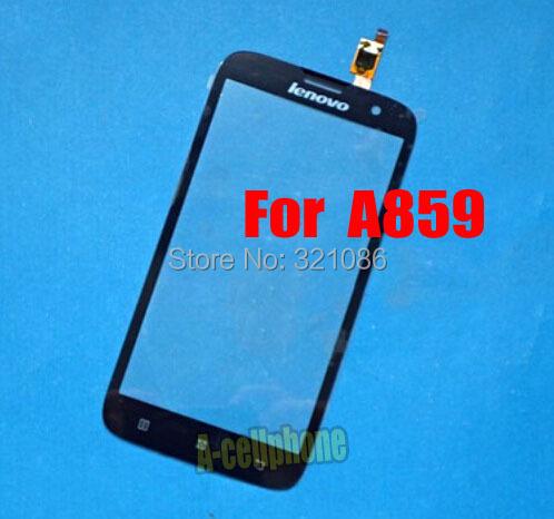 Black FOR Lenovo A859 Digitizer Touch Screen sensor Glass lens +FREE shipping