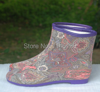 On sales now payless fur winter short rain boots for women(China (Mainland))