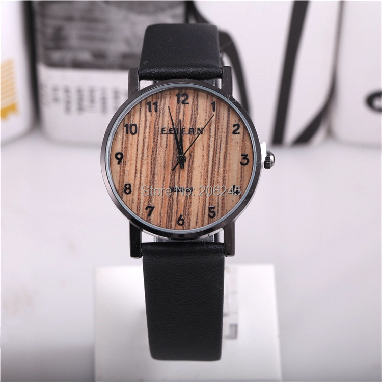 Гаджет  New Design Fashion Leather Male Watch Feifan Famous Brand Relogio Masculino Watches Men Wood Color Men Quartz Relojes None Часы