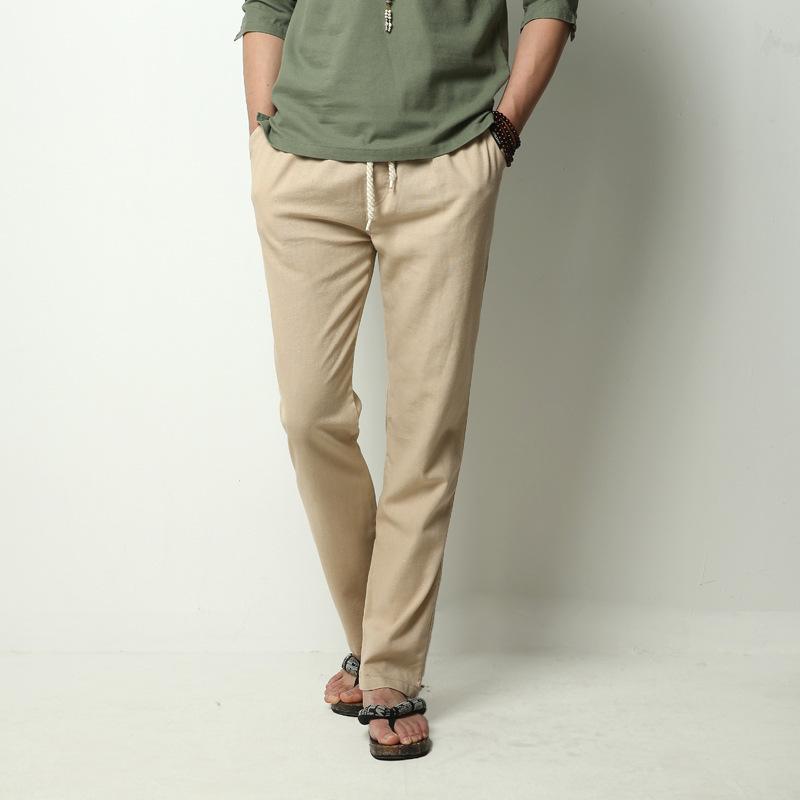 best mens linen pants - Pi Pants