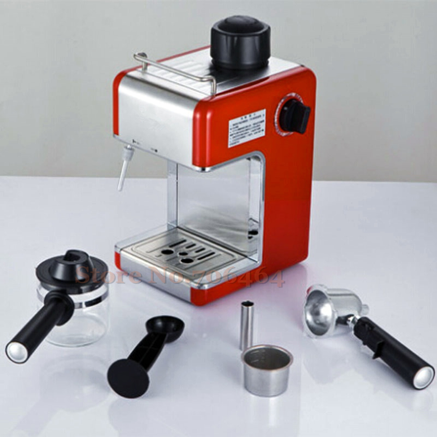 Automatic coffee maker drip colors stainless steel body coffee machine fashion design high quality coffee maker(China (Mainland))