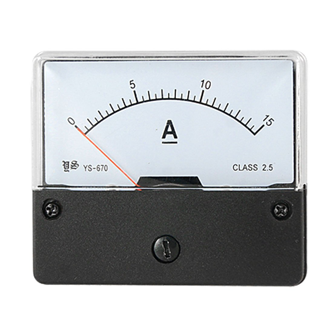 5 Pcs Wholesale DC 0-15A Current Range Panel Mount Ampere Meter Gauge<br><br>Aliexpress