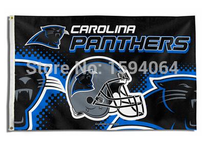 3x5ft USA NFL Carolina Panthers helmet flag banner metal hole polyester version free shipping(China (Mainland))