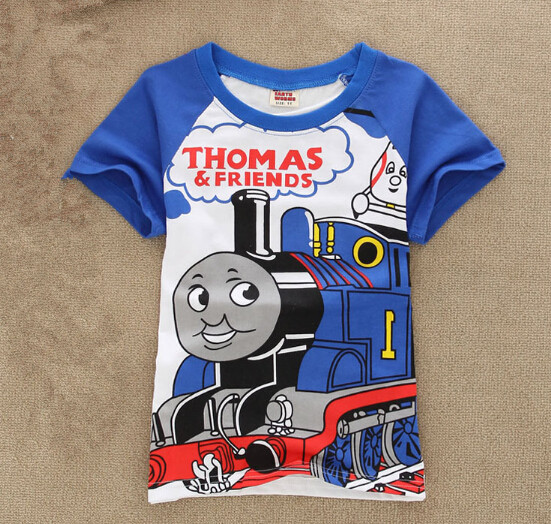 2016 new summer style Character baby kids clothes Cotton boys t shirts boy tops fashion O-Neck Toddler Tees Infant clothes(China (Mainland))