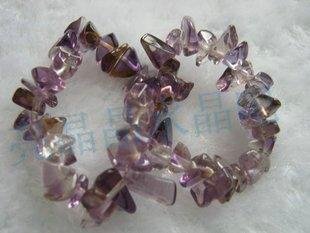 Natural crystal ametrine stone bracelet(China (Mainland))