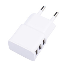 Buy 3 Ports EU Plug Wall Charger Adapter Iphone 6 6s Samsung Xiaomi Travel Home Universal Phone Charger 100pcs for $212.45 in AliExpress store