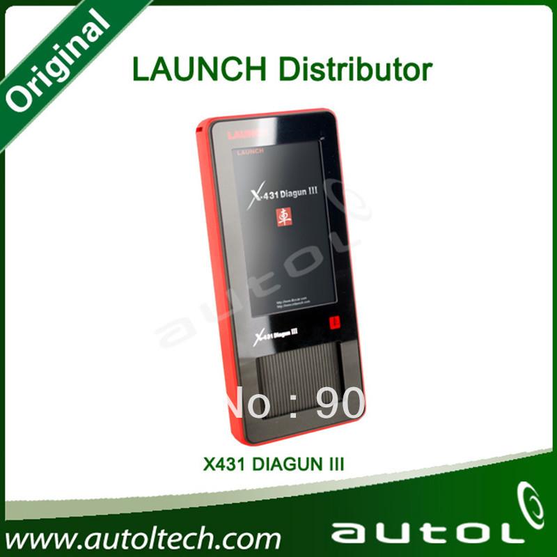 2013 Global Version 100% Original OnLine Update Launch X431 Diagun III,Diagun 3 Launch(China (Mainland))
