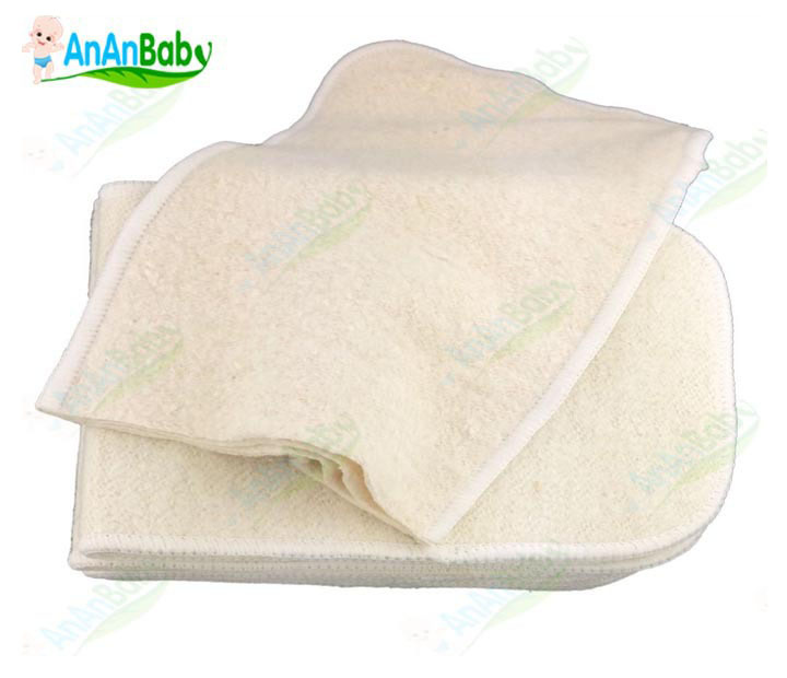 JC Trade Reusable 4 Layer Hemp Diaper Inserts Cloth Nappy 1Hemp