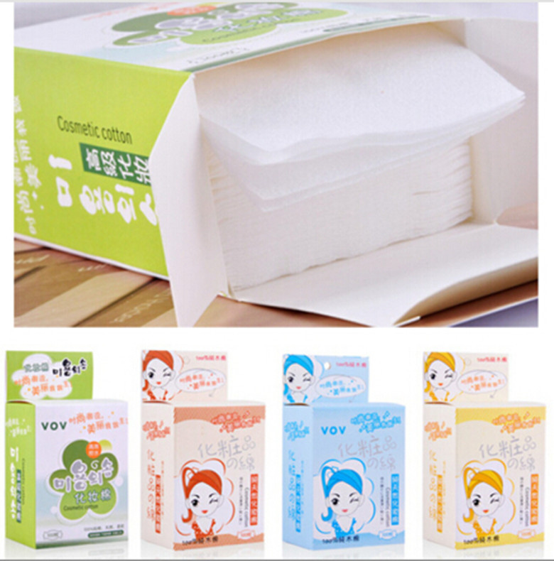 New Professional 1 box Makeup Cleansing Soft Cotton Pad Remover Ultra-Thin Makeup Remover E1169
