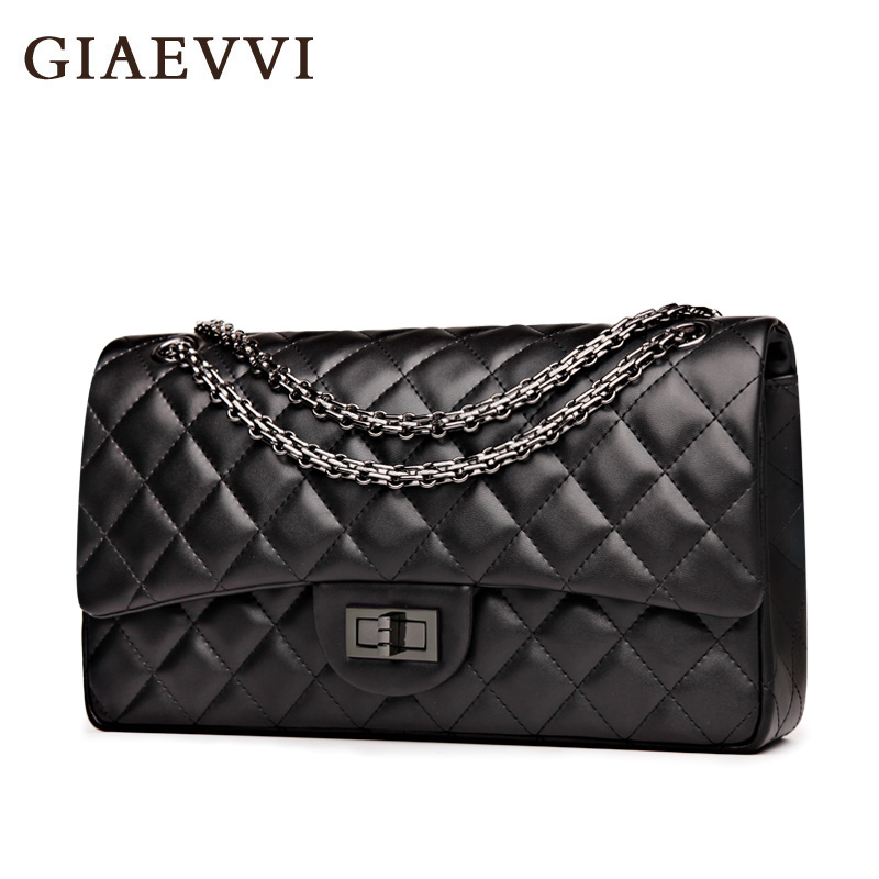 Фотография GIAEVVI women messenger bags 2016 split leather shoulder bag luxury handbags women crossbody bags designer handbags high quality