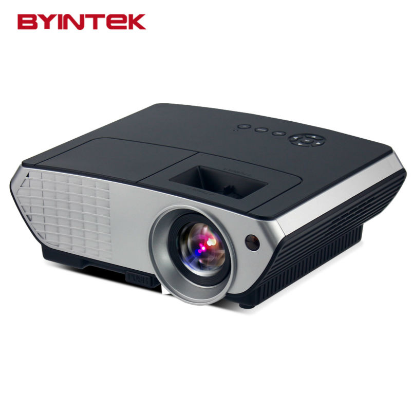 BYINTEK BL126 HDMI USB LCD LED Android WIFI Home Theater Video Portable Projector HD 1080P Proyector Beamer Russian Korean(China (Mainland))