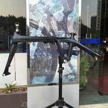 "JAVA Air Carbon Folding Bicycle Frameset 451 20"" 1 1/8"" Frame Fork For Mini Velo Folding Bike C/Disc Brake(China (Mainland))"