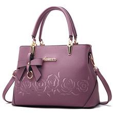 Yogodlns bolsa feminina do vintage casual tote moda feminina mensageiro sacos de ombro superior-alça bolsa carteira de couro 2019 novo(China)