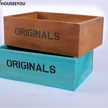 Buy Storage Boxes & Bins Vintage Wooden Storage Boxes Desk Organizer Closet Decoration Cajas De Madera Organizadores Home Storage for $15.57 in AliExpress store