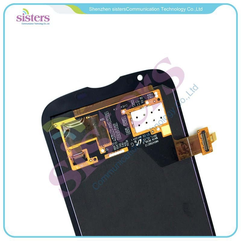 HAW0048 Black LCD Display With Touch Screen Digitizer Front Glass Assembly For Huawei U9202 P1 LTE 4G (4)
