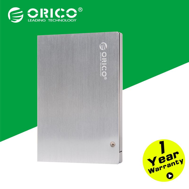 """2.5"""" External USB3.0 Aluminum HDD Enclosure with Protective Leather case(Not including HDD)(China (Mainland))"""