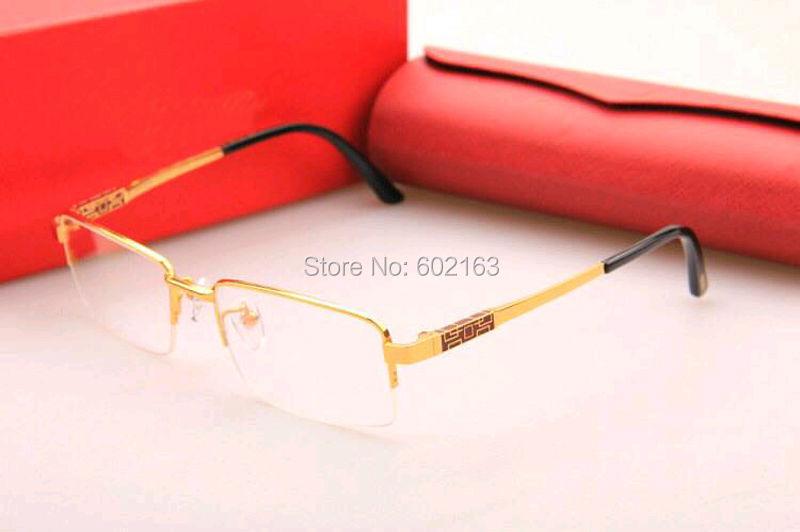 8200969 Glasses Frame Men Brand Optical Glasses Frame Half-rim Glasses Titanium Matrial Ultra-light Lens With Exquisite Packing Одежда и ак�е��уары<br><br><br>Aliexpress