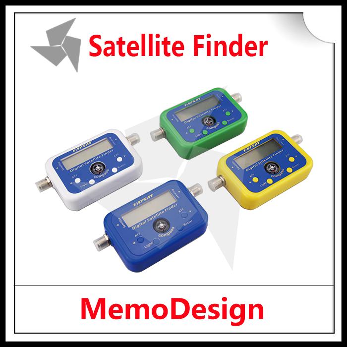 100 pcs Faysat Satellite TV Signal Finder Satellite Finder Digital Satellite Signal Meter Finder Dish network Direc TV Dish(China (Mainland))