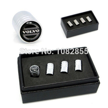 1500sets car styling Mini Chrome Wheel Tire Valve Caps Emblems Stem Air Dust Cover For M toyota VW Volkswagen S Sline Line Skoda(China (Mainland))