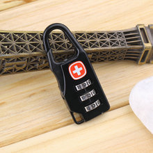 Hot ! Alloy Cross Combination Lock Code Number for Luggage Bag Drawer Cabinet(China (Mainland))