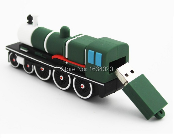 Big Train High Speed USB Flash Drive USB 2.0 Pen Drive 64GB/32GB/16GB/8GB/4GB Memory Flash Card U Disk Creative Gift<br><br>Aliexpress