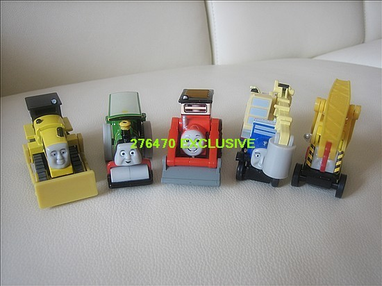Thomas & Friends Lot of 5pcs Metal Engineering Diecast New Loose(China (Mainland))