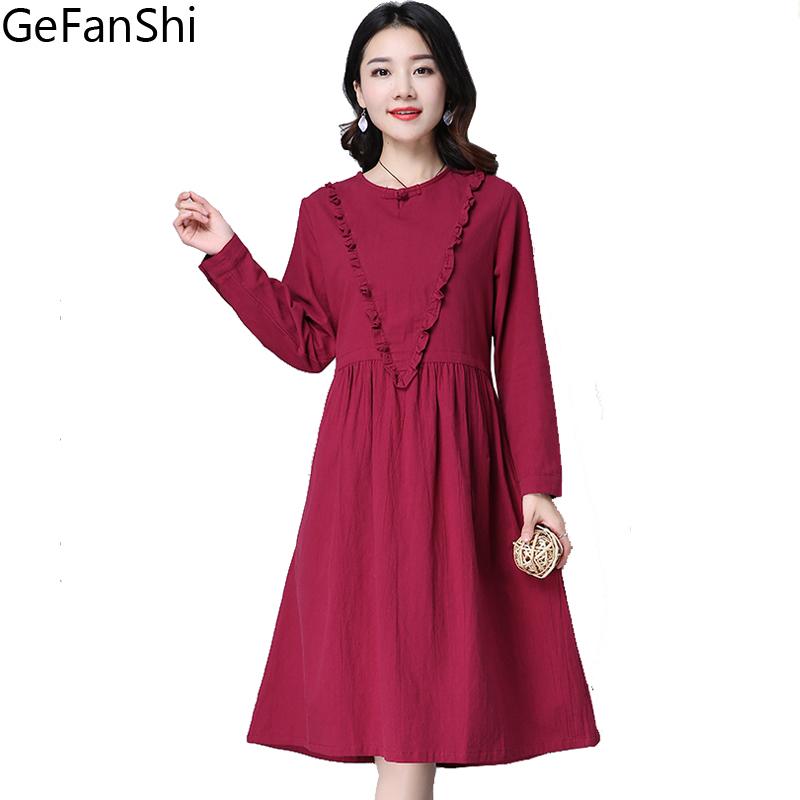 Long Linen Dresses Summer Promotion-Shop for Promotional Long ...
