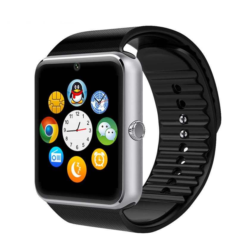 Smart Watch GT08 With Camera Support SIM Card Bluetooth Connectivity Android Phone Smartwatch Digital Sport Watch Reloj Hombre(China (Mainland))