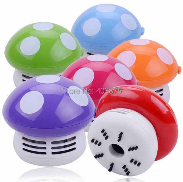 New Mini Home Handheld Tabletop Vacuum Cleaner Mushroom Vacuum Car Laptop Dust cleaner Dropshipping(China (Mainland))