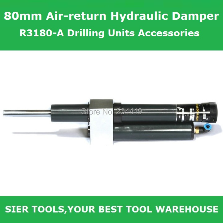 80mm Air-return Hydraulic Damper/R3180-A Drilling Units Accessories(China (Mainland))