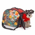 Foldable Transparent Pet Slings Carrier Bags Breathable Pets Dog House Portable Dog Slings Pet Carrier Bag