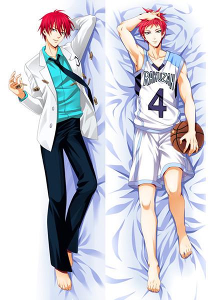 Fashion 2015 New Anime Dakimakura hugging Pillow Covers HD Japanese Anime Pillow Case 6031 Kuroko no Basket Lovely Anime Gift P(China (Mainland))