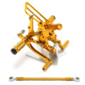 Gold Racing CNC Adjustable Rearsets Rear set footpegs For Honda CBR 893RR 919RR 900RR 1994 1999