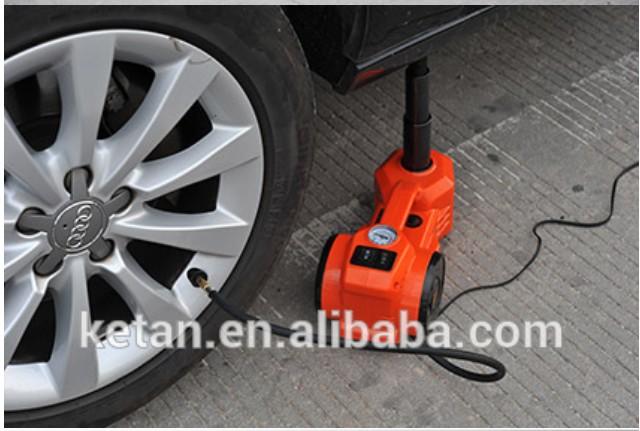 new design 12v dc survial car trip driver assistant 3 ton electric car jack(China (Mainland))
