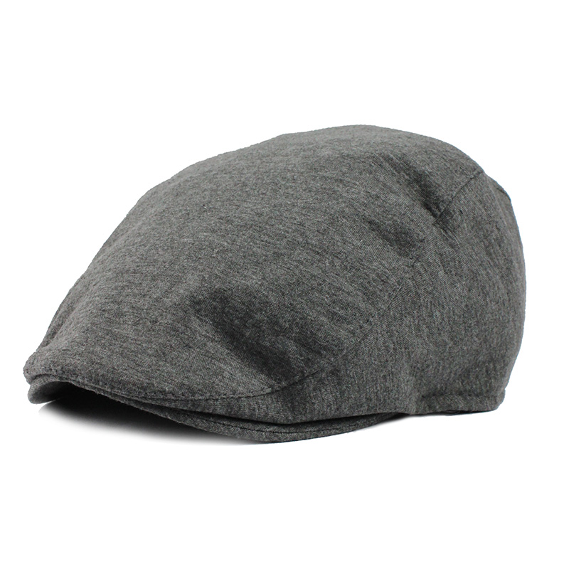 Cotton Newsboy Caps Golf Driving Beret Sun Flat Visors Warm Autumn Winter Hats Peaked Hat Stylish Casual Outdoor Caps For Adult(China (Mainland))