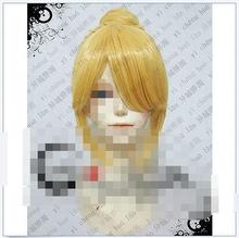 Wholesale& heat resistant LY free shipping>>>High Temperature Milk Blonde Silk V Home Mirror Tone Ling Sister Cosplay Wig