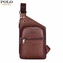 Buy VICUNA POLO Famous Brand Casual Leather Men's Crossbody Bag Retro Antique Mens Leather Shoulder Bag Leisure Men Messenger Bags for $15.98 in AliExpress store