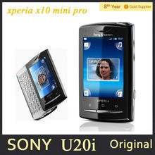 "U20i Original Sony ericsson Xperia X10 mini pro U20 U20i Mobile phone 2.55""Touch Android OS 3G GPS 5MP Refurbished Free shipping(Hong Kong)"