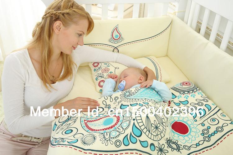 100%cotton baby bedding set, natural cotton filling,(China (Mainland))