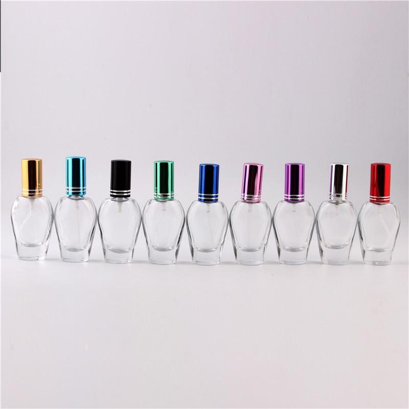 XYZ-12ML spray mini-color glass perfume spray empty bottles glass perfume bottles, glass spray bottles Dian Hualv pump head(China (Mainland))