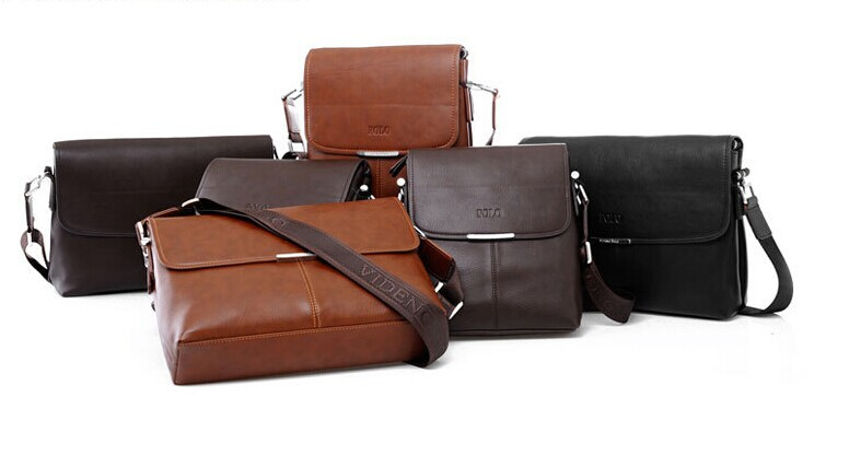 HOT!!! SOLD 9000 PCS High Quality men messenger bag ,fashion leather male shoulder bag ,casual briefcase brand name bags(China (Mainland))