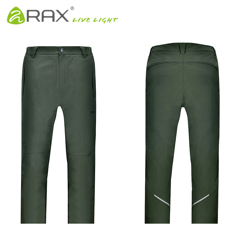 RAX Winter Waterproof Thickened Mens Pants Warm Fleece Windproof Trousers Men Camping Trekking Hiking Outdoor Sports Pants Men<br><br>Aliexpress