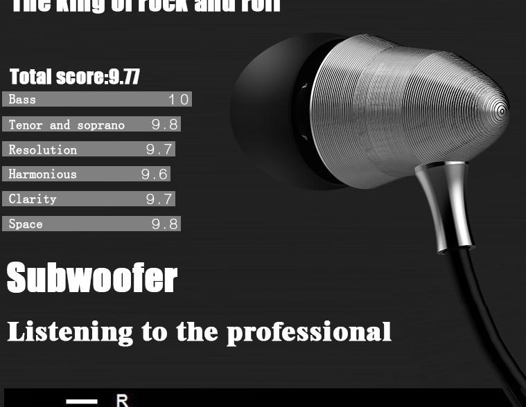 QKZ X6 Super Bass fone de ouvido Professional Earphone Monitoring auriculares HIFI Headsets DJ Earphones Universal 3.5MM