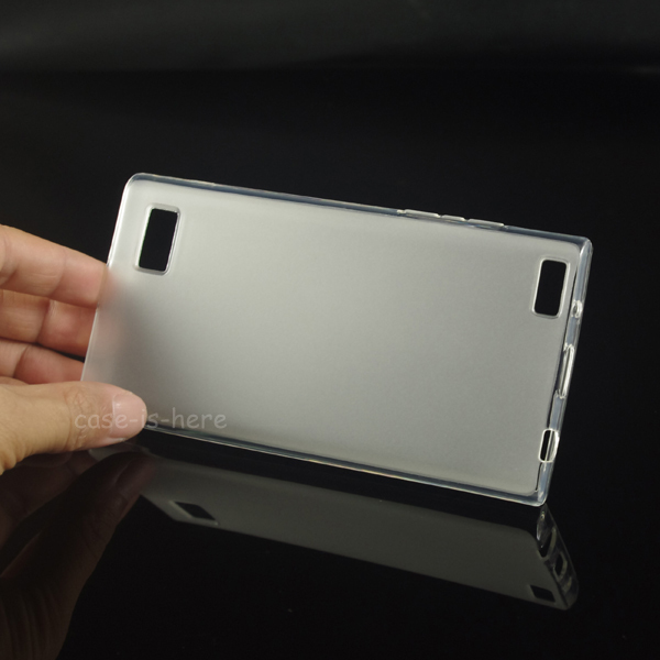 Soft Matte Pudding TPU Gel Case Skin for BlackBerry Leap Smartphone Protective Rubber Matte Cover(China (Mainland))