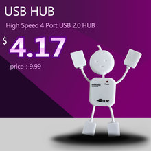USB HUB High Speed 4 Port USB 2.0 HUB with Cable 480Mbps Computer & Networking Peripheral USB HUB Conventrator + retail package