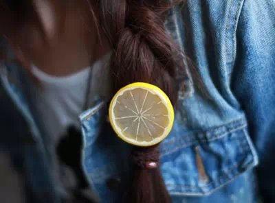 2015 Fashion Cute Fruit 3D Lemon Hair Side Clip Hairpin for Ladies Women Girl Kids Funny Creative Hair Accessories(China (Mainland))