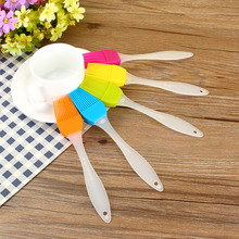Baking Bread Cake Lose Money Kitchen Cooking Tool Outdoor BBQ Basting Brushes Silicone Oil Brush Utensil Sweep Grilling Pastry(China (Mainland))