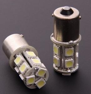 1156 1157 BA15S P21W 13 SMD 5050 13 LED 13smd Brake Tail Turn Signal Light Bulb Lamp Auto led Car bulb light 12V(China (Mainland))